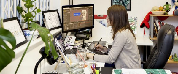 Illustrator animator studio in Derby