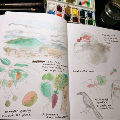 costa rica sketchbook 1