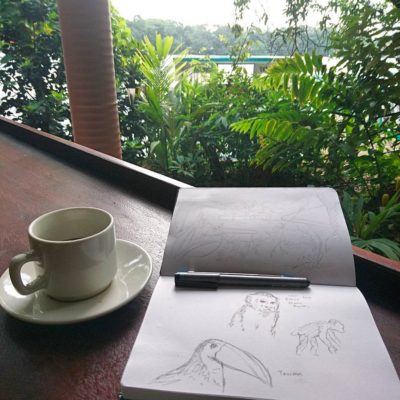 costa rica sketchbook 2