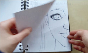 Sketchbook video flick throughs