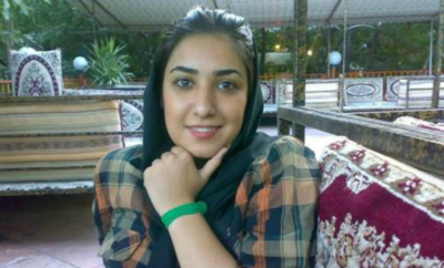 Atena was imprisoned for painting Iranian government officials as animals.