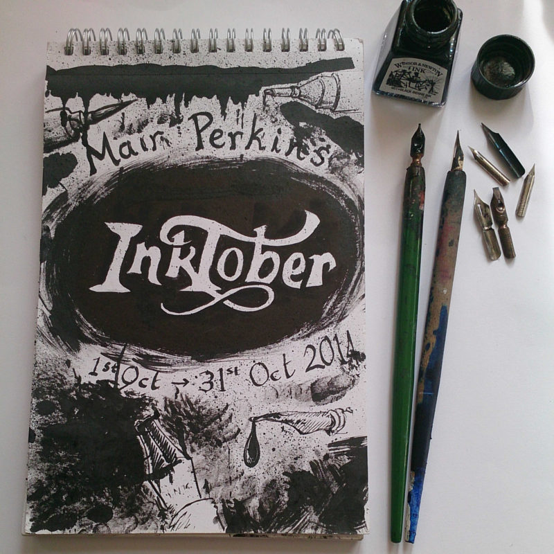 Inktober front cover