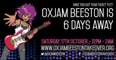 oxjam beeston banner design