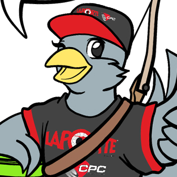Mascot Design for The Clay Pigeon Company