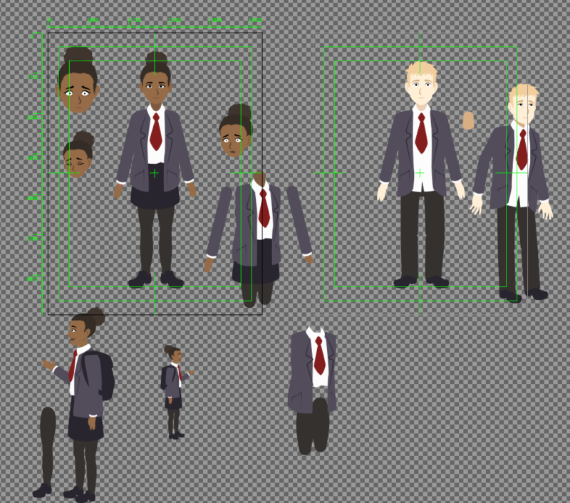 character rigs in Illustrator