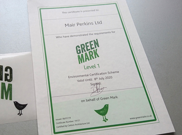 Green Mark Environmental Accreditation