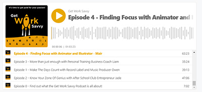 Mair on the Get Work Savvy Podcast