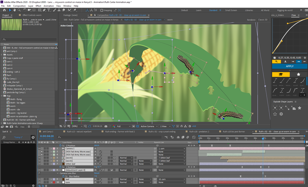 Animation in Adobe After Effects