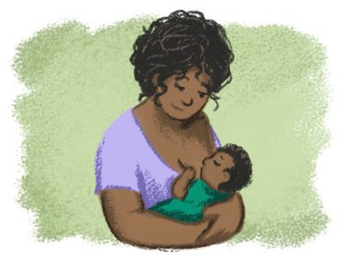 Breastfeeding - AF Early Years Tiled Illustrations