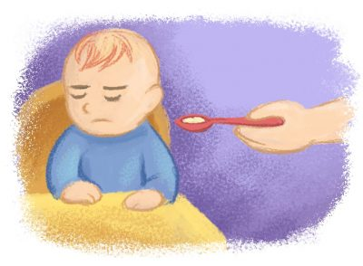 Feeding issues - AF Early Years Tiled Illustrations